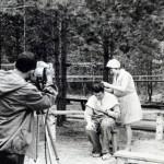 Рабочие моменты съемок фильмов «Дочери ее и сыновья» и «Как объяснить тебе»